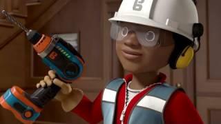 Bob Budowniczy. Leo uczy się wiercenia.