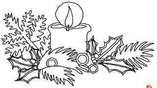 Świece i ozdoby świąteczne :: 38